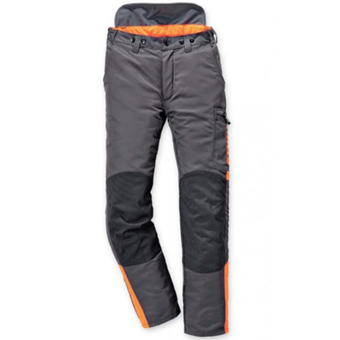 Панталон STIHL DYNAMIC (клас 2) в тъмносив-оранжев цвят