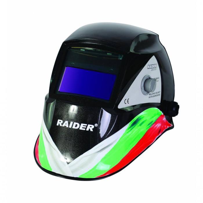 Шлем заваръчен фотосоларен DIN 9-13 дизайн Raider RD-WH03