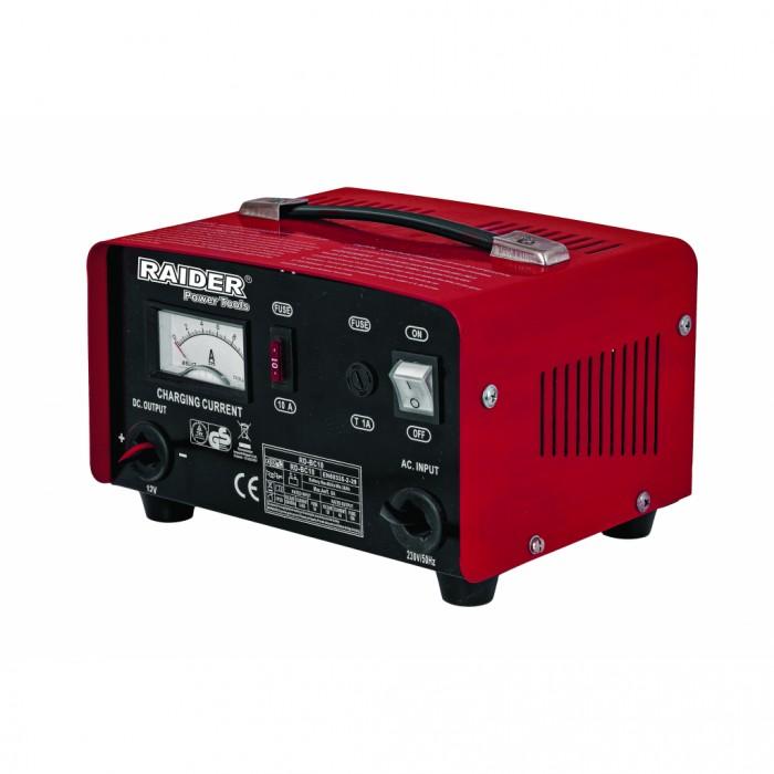 Зарядно за акумулатор 12V 5A Raider RD-BC10