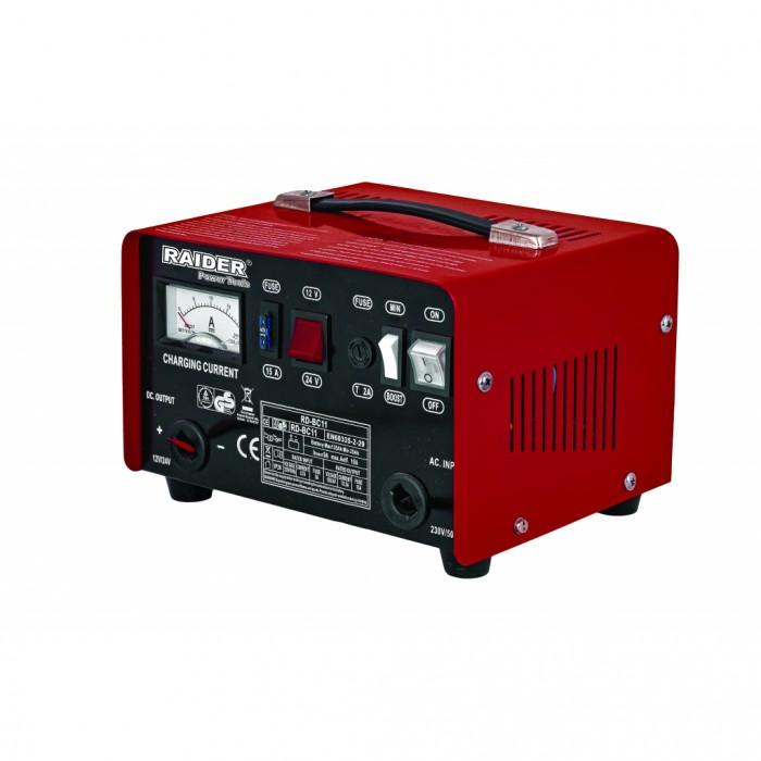 Зарядно за акумулатор 12/24V 7/3.5A Raider RD-BC11