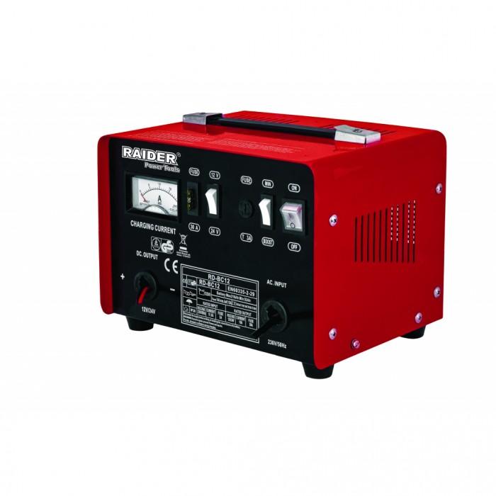 Зарядно за акумулатор 12/24V 10A Raider RD-BC12