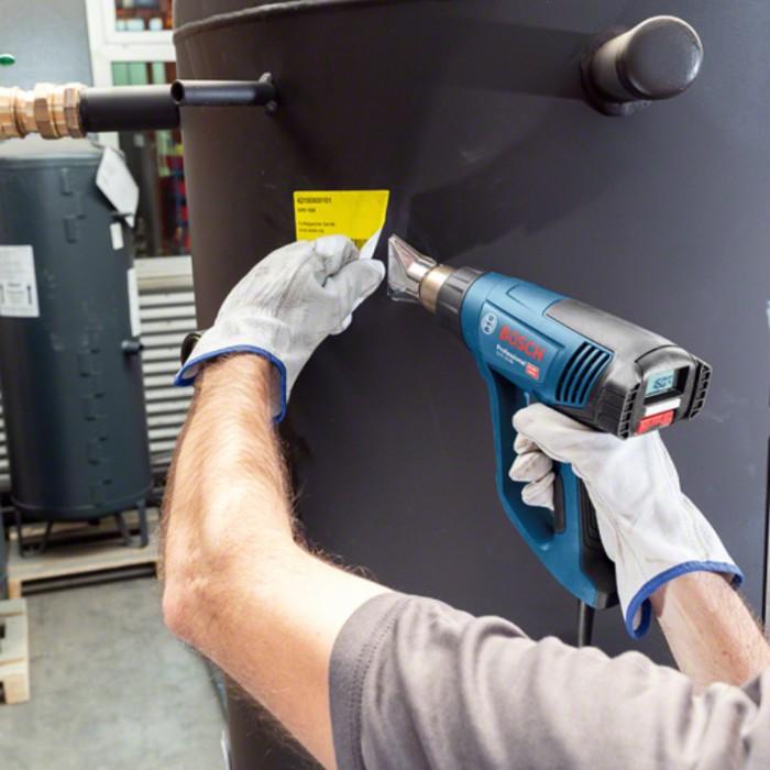 Пистолет за горещ въздух електрически 2300 W, 150-500 л/мин, 50-550 °C, Bosch GHG 23-66