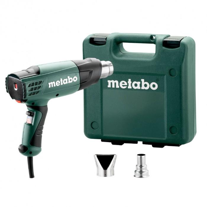 Пистолет за горещ въздух електрически 2000 W, 150-500 л/мин, 500 °C, Metabo HE 20-600