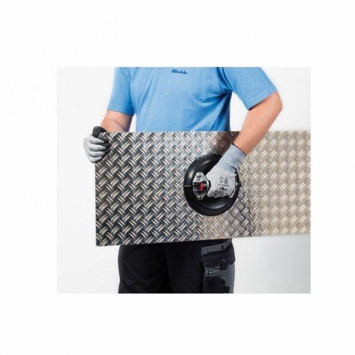 Вендуза за плоскости единична алуминиева с помпа ф 220 мм, 80 кг Bohle Veribor