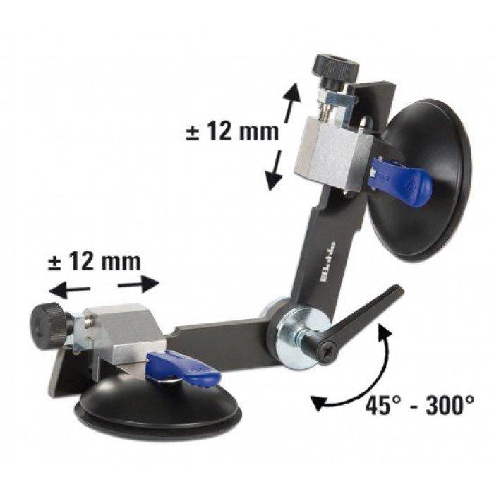 Вендуза за плоскости двойна раздвижена ф 120 мм, 45-300° Bohle Verifix