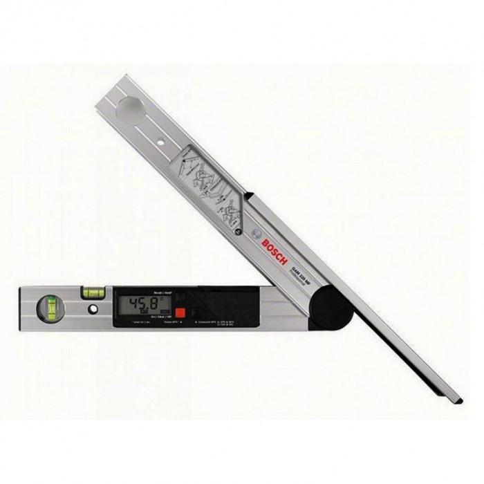 Ъгломер дигитален 400 мм, 0-220 °, ±0.1°, Bosch GAM 220 MF