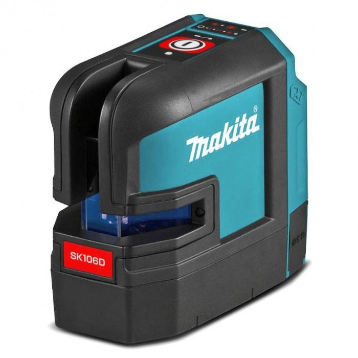 Нивелир лазерен линеен/точков без батерия и зарядно Makita SK106DZ