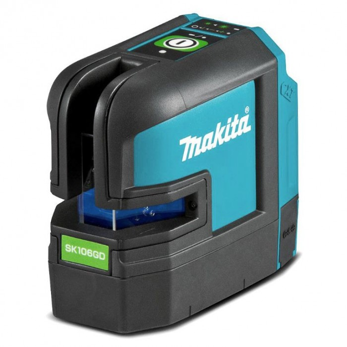 Нивелир лазерен линеен/точков без батерия и зарядно Makita SK106GDZ