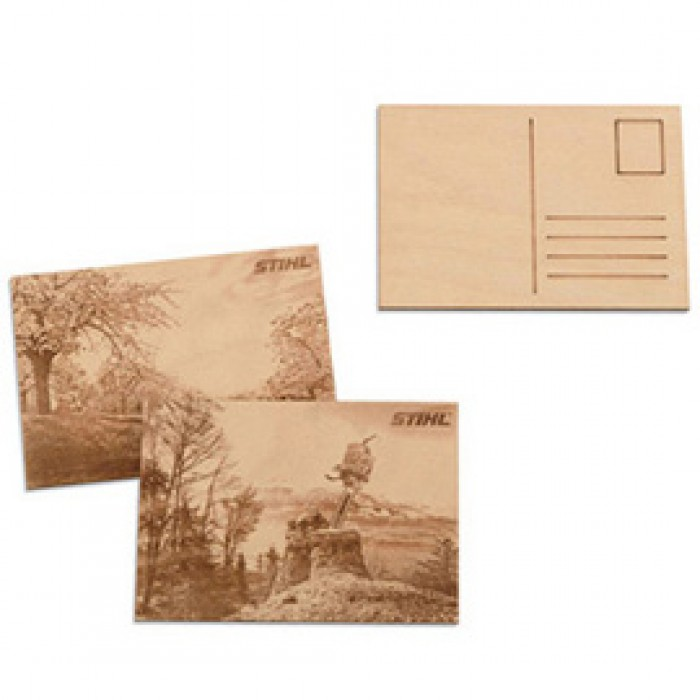 Дървена картичка STIHL, 2 бр.