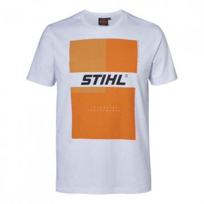 Мъжка тениска STIHL, бяла