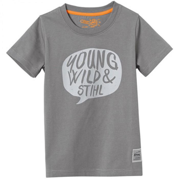 Детска тениска STIHL YOUNG WILD