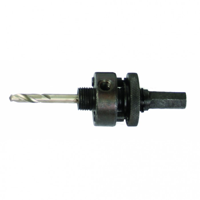 Водач за bi-метални боркорони HEX опашка за Ø32-200mm 5/8'' (16mm) с центриращо свредло Raider 157757