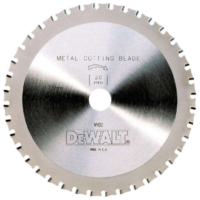 Диск метален HM за рязане на алуминий 184x16x2.6 мм, 48 z, DeWALT DT4092