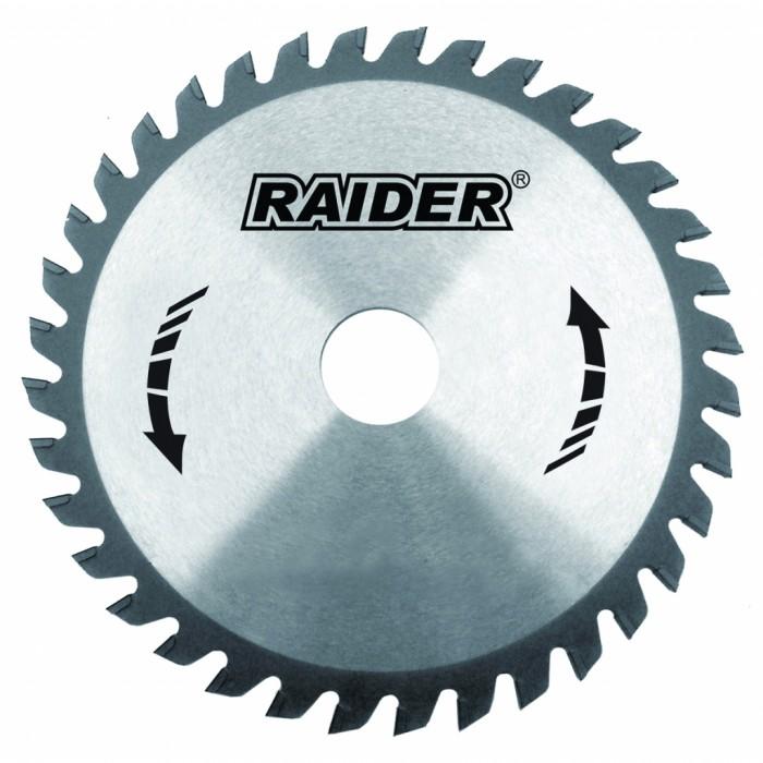 Диск за циркуляр 255х100Тх25.4mm за алуминий Raider 163118