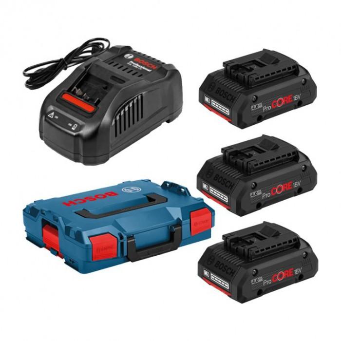 Батерия за електроинструменти със зарядно устройство 18 V, 4 Ah  Bosch 3165140981361