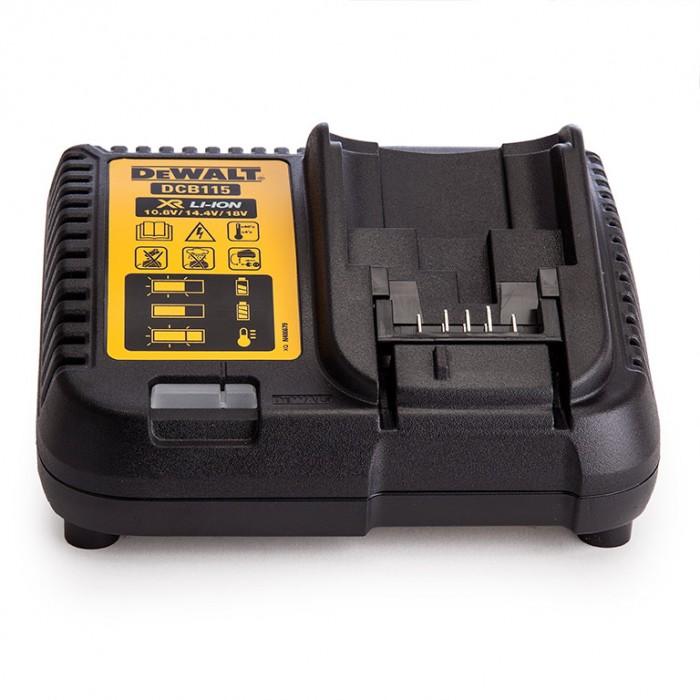 Зарядно устройство за акумулаторни инструменти с Li-Ion батерии 10.8-18 V, DeWALT DCB115