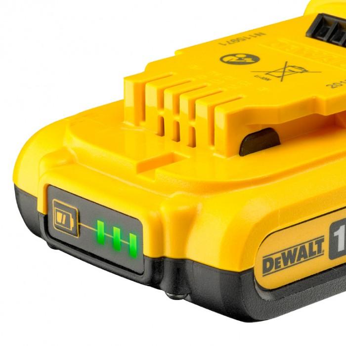 Батерия акумулаторна Li-Ion за електроинструменти 18 V, 2 Ah, DeWALT DCB183