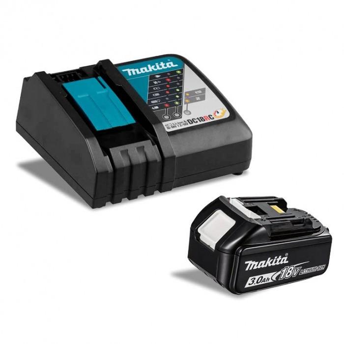 Батерия Li-Ion комплект за електроинструменти със зарядно 18 V, 3 Ah, Makita 191A24-4