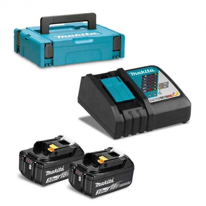 Батерия Li-Ion комплект за електроинструменти със зарядно 18 V, 3 Ah, Makita 197952-5