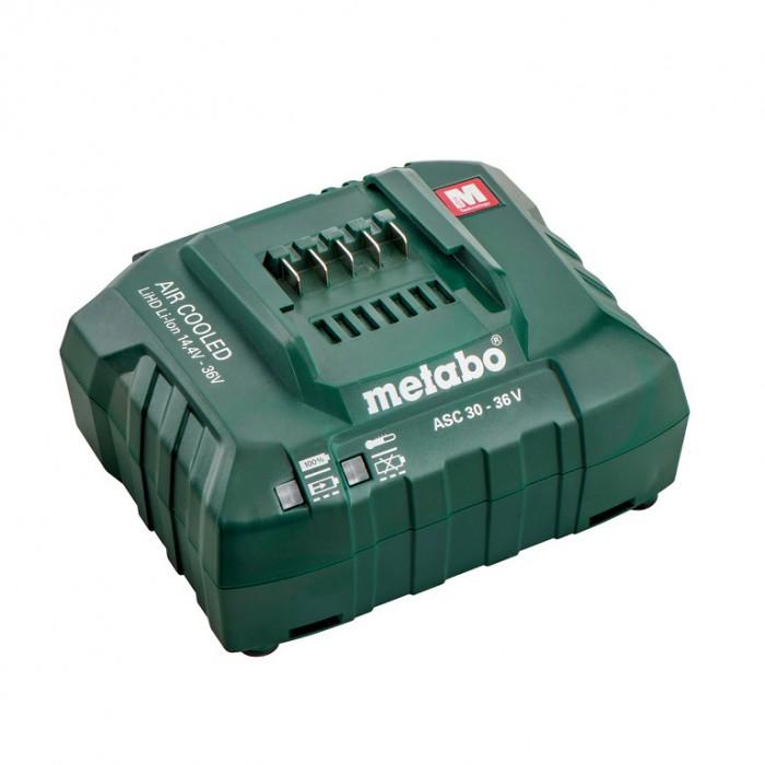 Зарядно устройство за акумулаторни инструменти с Li-Ion батерии 14.4-36 V, Metabo ASC 30-36 V