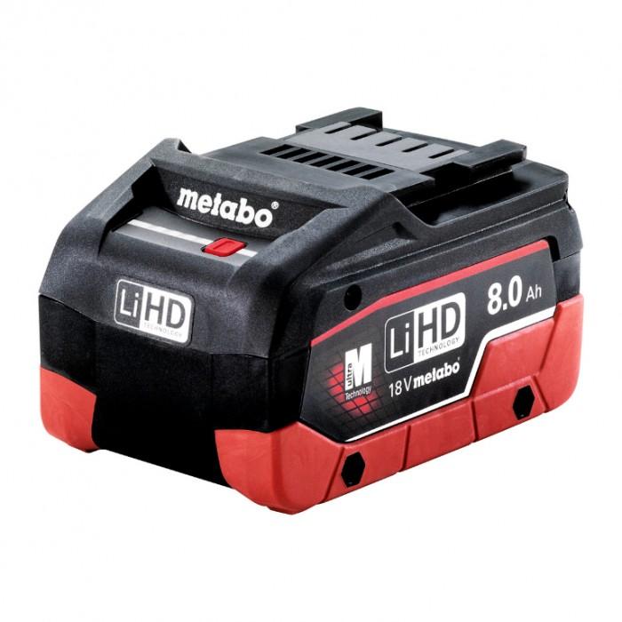 Батерия акумулаторна Li-Ion за електроинструменти 18 V, 8 Ah, Metabo LIHD 18 V