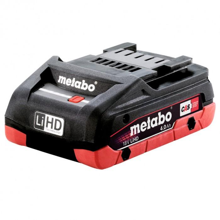 Батерия акумулаторна Li-Ion за електроинструменти 18 V, 4 Ah, Metabo LIHD 18 V