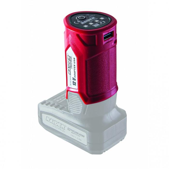 Адаптор USB за RD 12V-18V Raider 032129