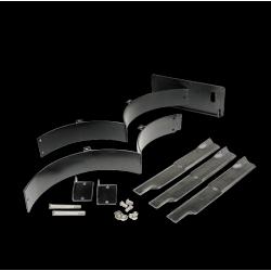 """Лесен за инсталиране мулчиращ комплект за 153 см / 60 """"изработена коса. 60"""" Fabricated Deck PZ Mulch Kit"""