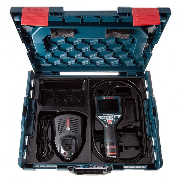 Камера за тръби и канали мобилна 10.8 V, ф 8.5 мм, 1.2 м, Bosch GIC 120 C