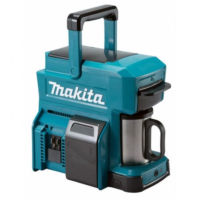 Кафемашина акумулаторна 18 V, 0.24 л, Makita DCM501Z