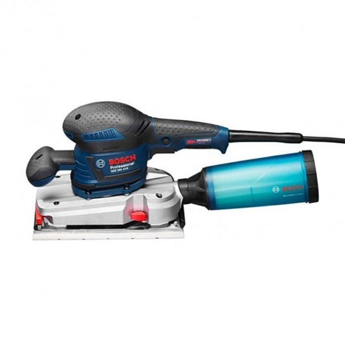 Виброшлайф електрически с правоъгълна плоча и плавно регулиране 330 W, 114х226 мм мм, 16 000-22 000 хода/мин, Bosch GSS 280 AVE