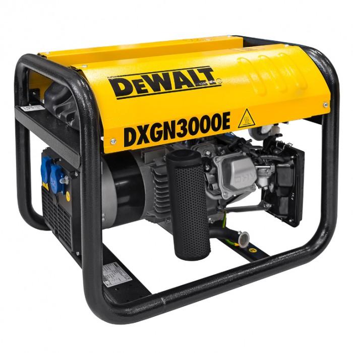 Генератор бензинов монофазен 2600 W, 4.9 к. с., 10.6 A, 230 V, DeWALT DXGN3000E