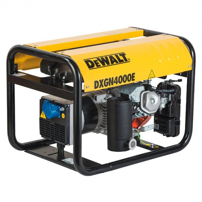 Генератор бензинов монофазен 3100 W, 5.5 к. с., 230 V, DeWALT DXGN4000E