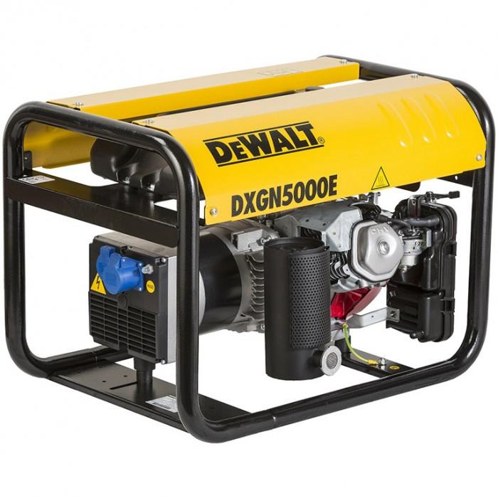 Генератор бензинов трифазен 400V 5000 W, 8.4 к. с., 230/400 V, DeWALT DXGN5000E