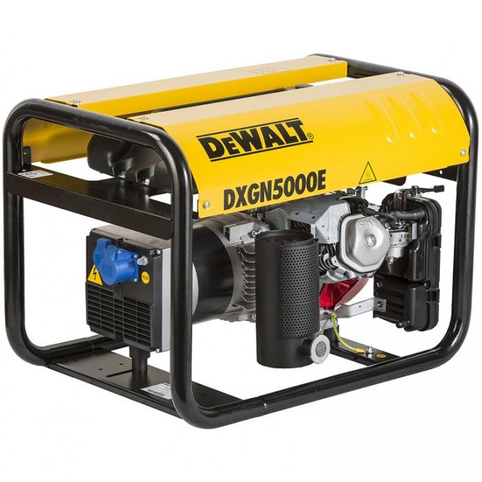 Генератор бензинов трифазен 400V, 6600 W, 11.7 к. с., 10.1/15.6 A, 230/400 V, DeWALT DXGN8000E