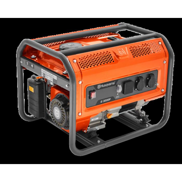 Бензинов генератор Husqvarna G3200P 2.8 kW, 3.8к.с., 49kg,15л.резервоар