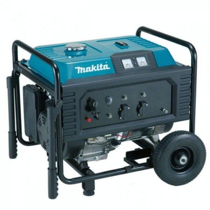 Бензинов монофазен генератор с електростартер 5500 W, 230 V, Makita EG5550A
