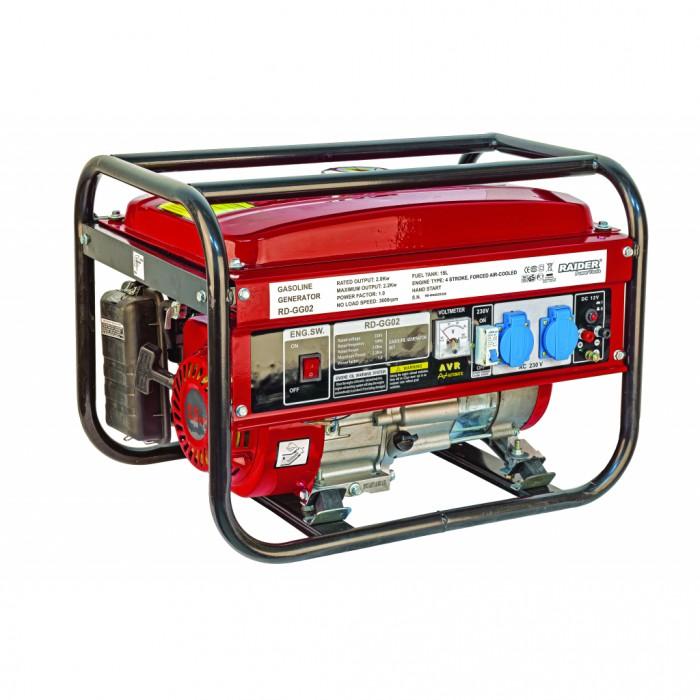 Генератор за ток бензинов 2kW Raider RD-GG02