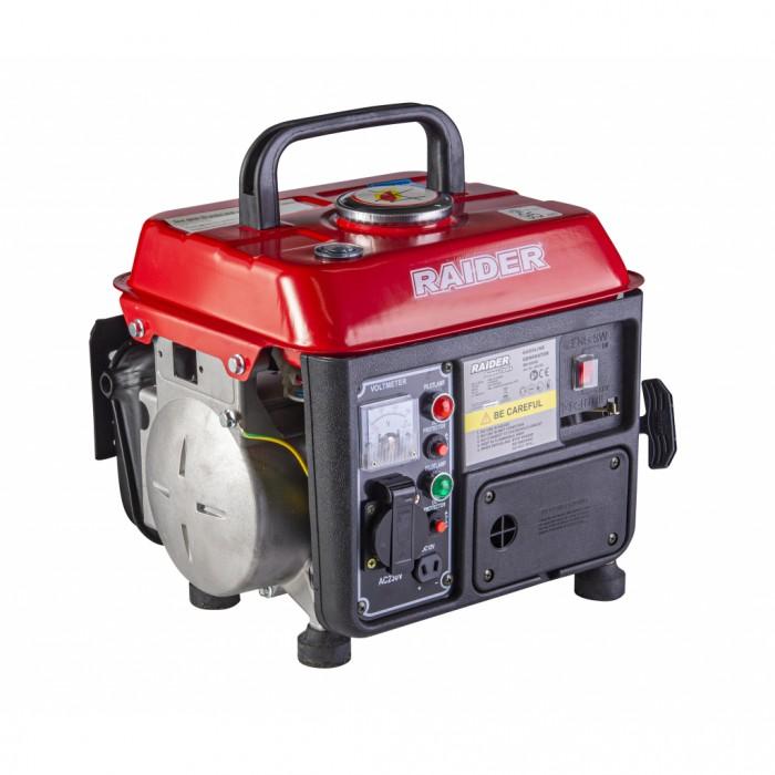 Генератор за ток бензинов двутактов 0.65kW Raider RD-GG08