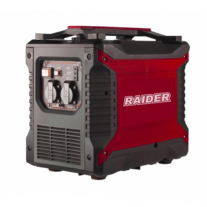 Генератор за ток бензинов 2.5kW инверторен Raider RD-GG10