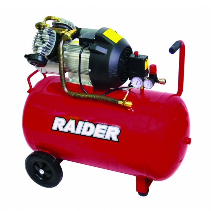Компресор 100L 2.2kW Raider RD-AC03