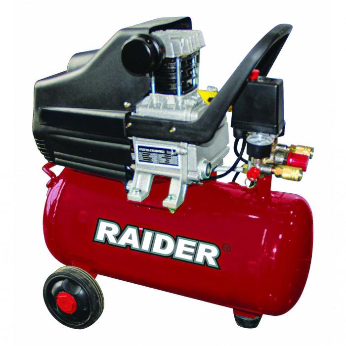 Компресор 24L 1.5kW Raider RD-AC04O