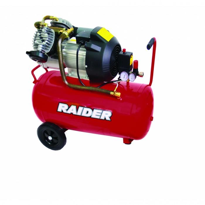 Компресор  50L 2.2kW 356L/min Raider RD-AC08