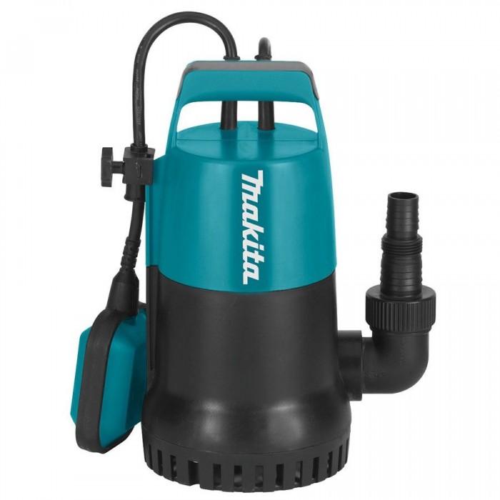 Помпа потопяема дренажна за чисто или леко замърсена вода Makita PF0300