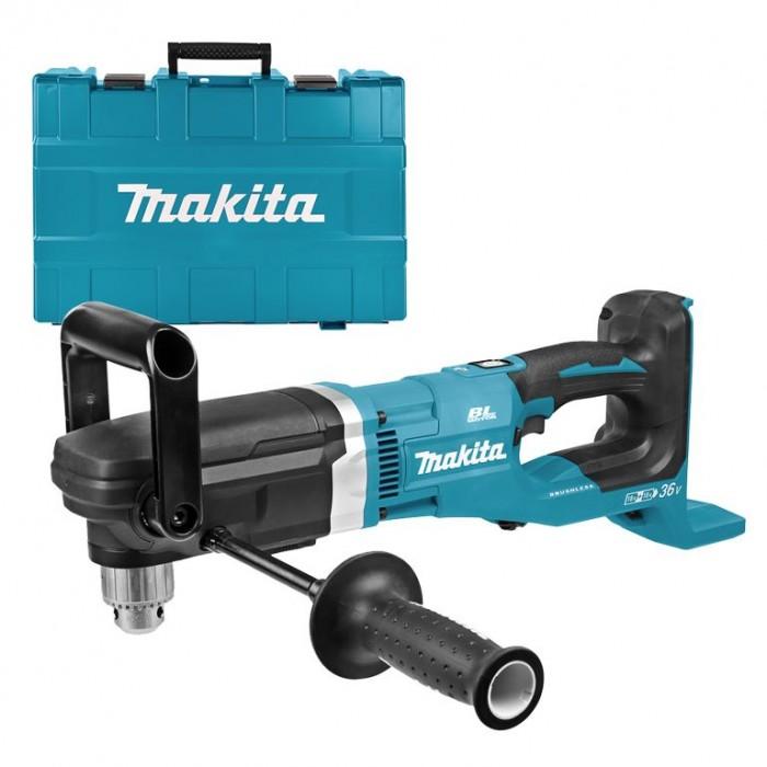 Бормашина акумулаторна ъглова 36 V, 136 Nm, 2-13 мм, Makita DDA460ZK