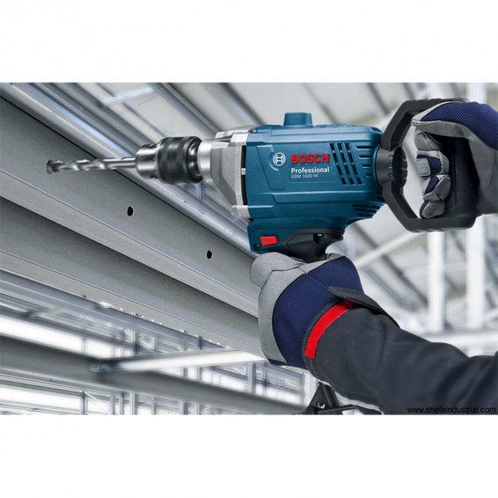 Бормашина електрическа безударна с плавно регулиране 850 W, 11 Nm, 1-16 мм, Bosch GBM 1600 RE