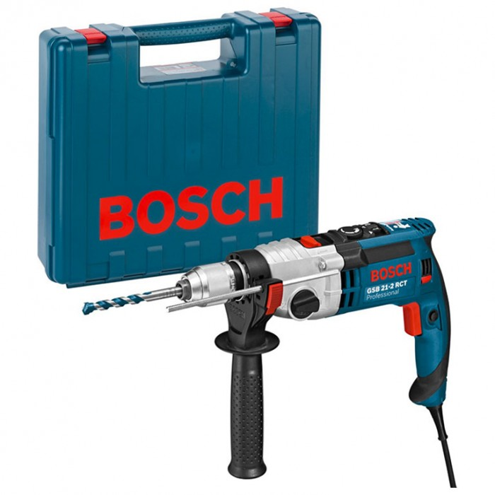 Бормашина ударна с плавно регулиране 1300 W, 43 Nm, 1.5-13 мм, Bosch GSB 21-2 RCT