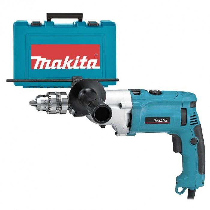 Бормашина електрическа ударна с плавно регулиране 1010 W, 2-13 мм, Makita HP2070