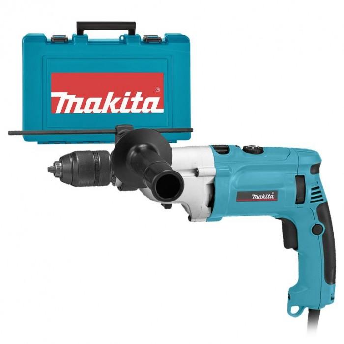 Бормашина електрическа ударна с плавно регулиране 1010 W, 1.5-13 мм, Makita HP2071
