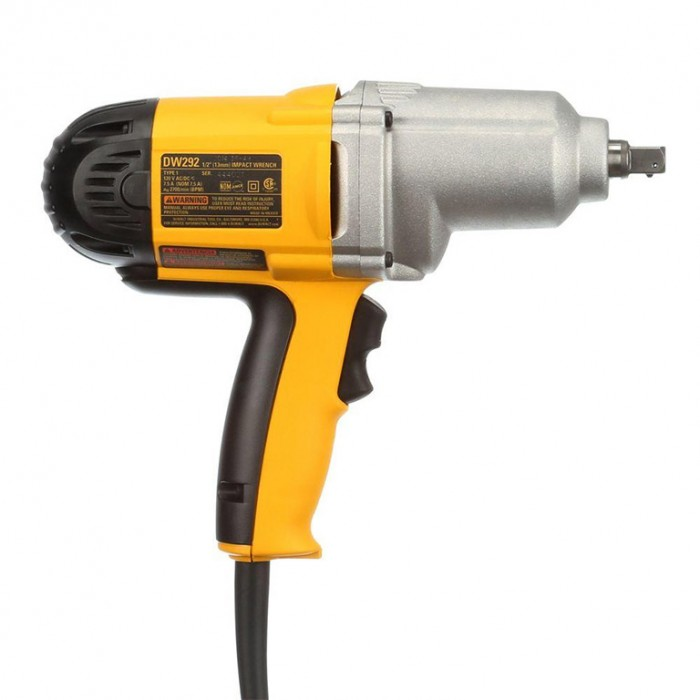 """Гайковерт електрически ударен 710 W, 440 Nm, 1/2"""", DeWALT DW292"""